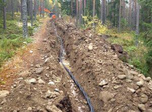 Maastosuunnittelu on tärkeä osa maakaapeliverkon rakentamista.